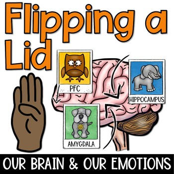 Flipping a Lid: Parts of the Brain and Our Emotions