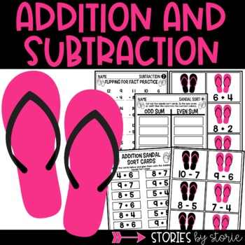 Addition Facts Memory Game