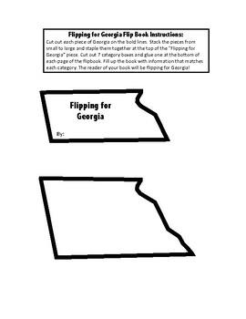 Georgia Unit Study Flipbook