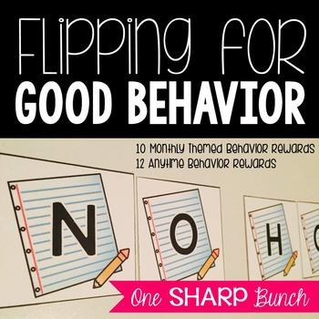 Flipping for Good Behavior {Classroom Management}
