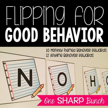 Flipping for Good Behavior {Classroom Management}