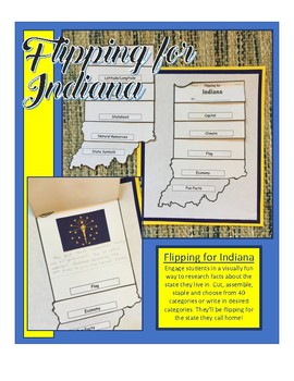 Indiana Unit Study Flipbook