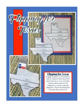 Texas Unit Study Flipbook