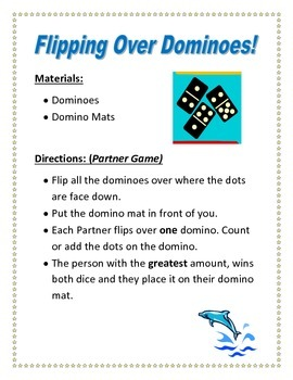 Flipping over dominoes