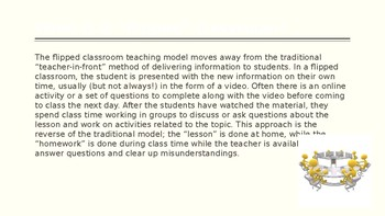 Flipping the Classroom - A Manual for Teachers