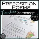 Preposition Phrase Poems {Grammar & Creative Writing}