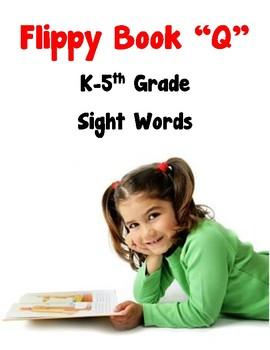 Flippy Book Q