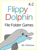 Flippy Dolphin File Folder Games