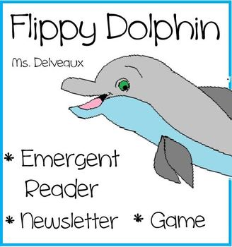 Flippy Dolphin Emergent Reader