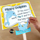 Flippy Dolphin Reading Strategy: Lesson Plan, Center, PowerPoint: CC Aligned!