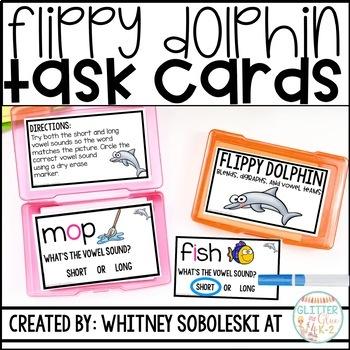 Flippy Dolphin Task Cards