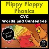 Flippy Flappy Phonics: CVC Words and Sentences