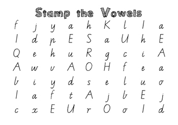 Flippy Vowel Activity