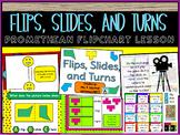 Flips, Slides, and Turns Promethean Flipchart Lesson