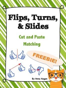 Flips, Turns, Slides Hands-On Activity