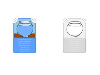 Float and Sink mini book