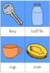 Float and Sink nomenclature cards
