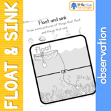 Float and Sink observation sheet