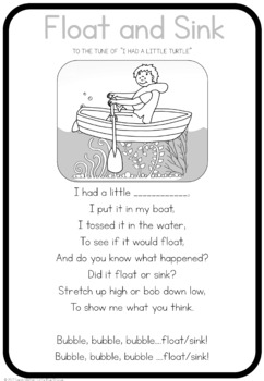Float and Sink song