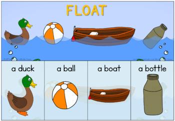 Float and sink (buoyancy) unit bundle