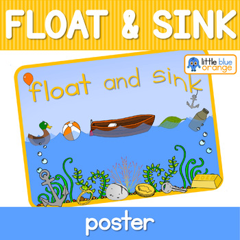 Float and sink poster
