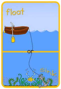 Float and Sink  sort worksheets
