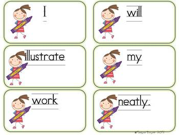 Floating Along Valentine Word Work: Long O, Contractions, & Synonyms