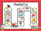 Floating Fun:  NO PREP Summer Themed Beginning Blends Game