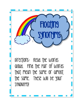 Floating Synonyms