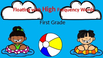 Floating With High Frequency Words First Grade