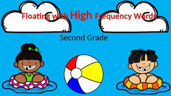 Floating With High Frequency Words Second Grade