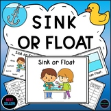 Sink or Float Experiments, Activities, Emergent Reader and Printables