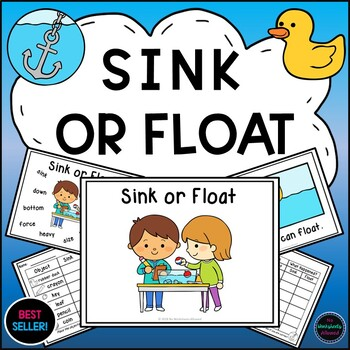 Sink or Float {Experiments, Activities, Emergent Reader and Printables}