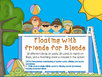 Floating with Friends for Blends