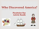 """Flocabulary - Activity Bundle for  """"Who Discovered America?"""""""