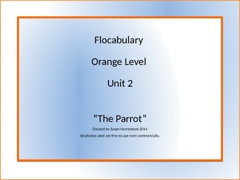 Flocabulary Grade 4 Orange Level Unit 2 ~ Power Point ~