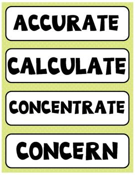 Flocabulary Orange Unit 6 Vocabulary Cards - Fourth Grade