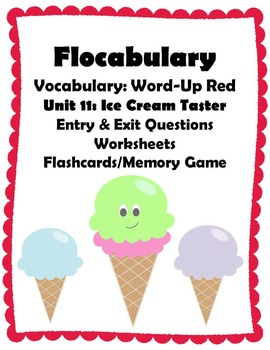 Flocabulary: Vocabulary - Word Up Red - Unit 11