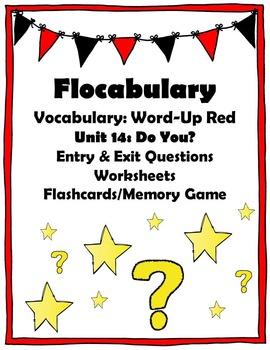 Flocabulary: Vocabulary - Word Up Red - Unit 14