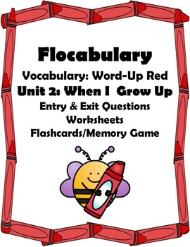 Flocabulary: Vocabulary - Word Up Red - Unit 2