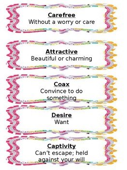 Flocabulary words for 4th grade
