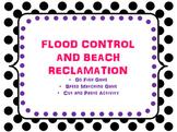 Flood Control and Beach Reclamation Activity Cards