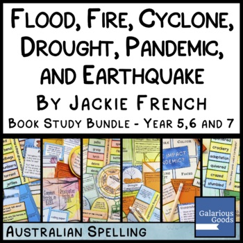 Flood, Fire and Drought - Book Study Bundle for Jackie French Books