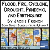 Flood, Fire, Cyclone and Drought - Book Study Bundle for J
