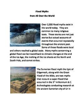 Flood Myths from All Over the World