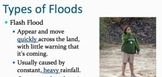 Flood PowerPoint with Guided/Ghost Notes and Worksheet