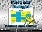 Flood and Drought Thinking Links Activity - King Virtue's Classroom