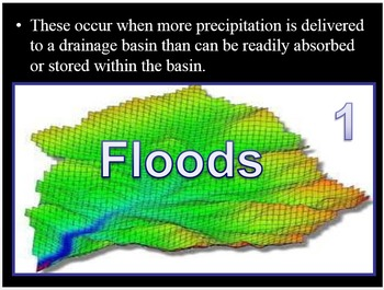 Flooding, Dams, Levee's and Salmon Quiz Game