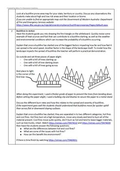 Floods and Bushfires - Geography Unit Lesson Plans