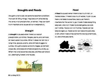 Floods and Drought Bundle